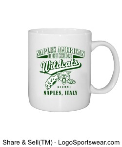 Naples American High School Alumni, Naples Italy Coffee Mug Design Zoom