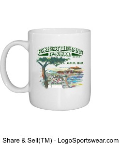 Forrest Sherman High School Coffee Mug w/ Artwork Design Zoom