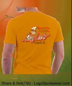 Ray Lee's 30th Anniversary Pig Roast T Shirt Design Zoom